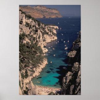 EU, France, Provence, Bouches, du, Rhone, 4 Poster