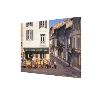 EU, France, Provence, Bouches-du-Rhone, Arles. Canvas Print