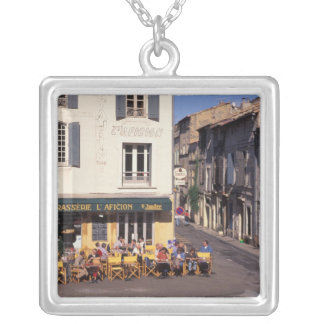 EU, France, Provence, Bouches-du-Rhone, Arles. Silver Plated Necklace
