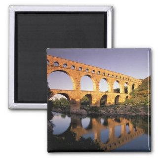 EU, France, Provence, Gard, Pont du Gard. Magnet