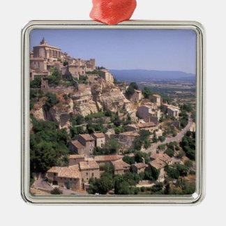 EU, France, Provence, Luberon, Gordes Christmas Ornament