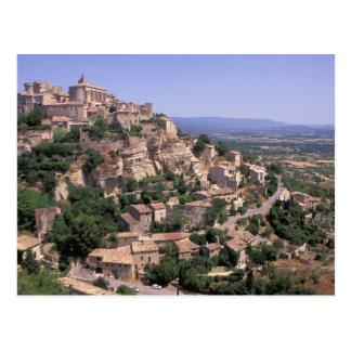 EU, France, Provence, Luberon, Gordes Postcard