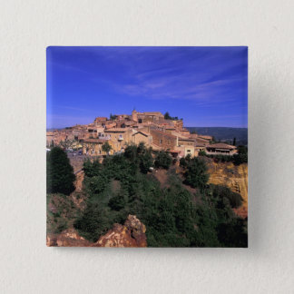 EU, France, Provence, Vaucluse, Rousillon. 15 Cm Square Badge