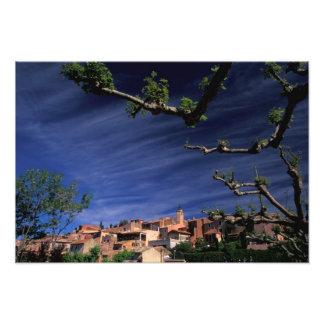 EU, France, Provence, Vaucluse, Roussillon. 3 Photo Print