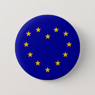 EU Heart Referendum Vote European Union Brexit 6 Cm Round Badge