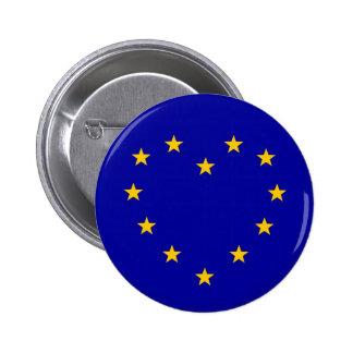EU Heart Referendum Vote European Union Brexit 6 Cm Round Badge
