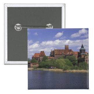 EU, Poland, Pomerania, Malbork. Europe's 15 Cm Square Badge