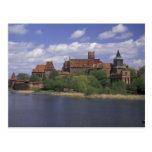 EU, Poland, Pomerania, Malbork. Europe's Postcard