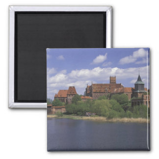 EU, Poland, Pomerania, Malbork. Europe's Square Magnet