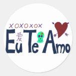 Eu Te Amo Sticker