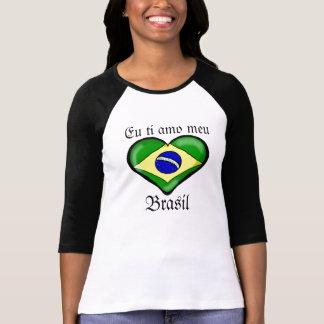 Eu ti amo meu Brasil T Shirts