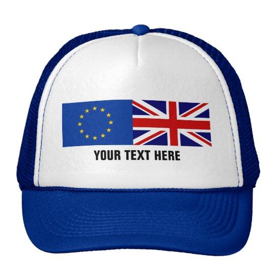 EU UK referendum BREXIT voting trucker hat