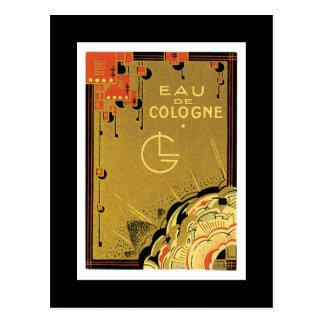 Eua De Cologne Postcard