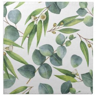 Eucalyptus Foliage Pattern Napkin