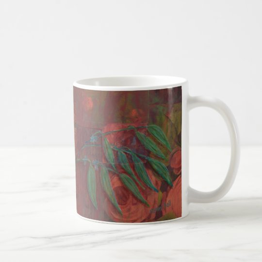 Eucalyptus Mixed Media Mug