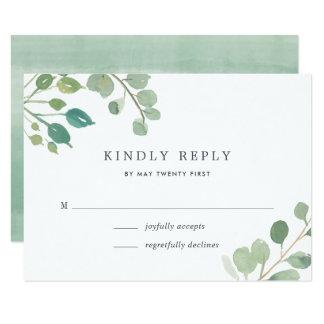 Eucalyptus RSVP Card