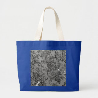 Eucalyptus Tree Branches Large Tote Bag
