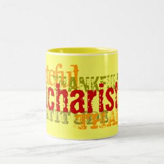 Eucharisteo Two-Tone Mug