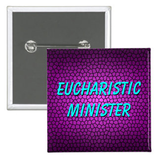 EUCHARISTIC MINISTER 15 CM SQUARE BADGE
