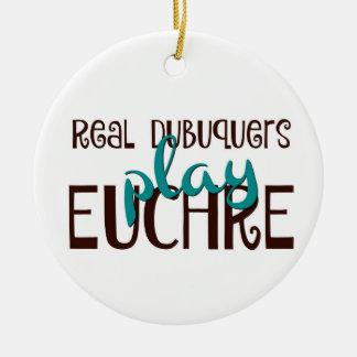 Euchre Christmas Ornament