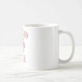 Euclid Pink Girl Basic White Mug