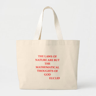 EUCLID quote Canvas Bag