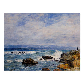 Eugene Boudin: Antibes, the Point of the Islet Postcard