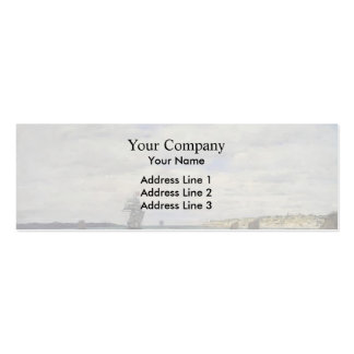 Eugene Boudin- Coast of Brittany Business Card Template