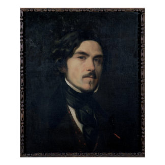Eugene Delacroix  1840 Poster