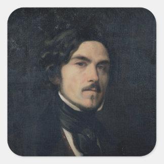 Eugene Delacroix  1840 Square Sticker