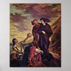 Eugene Delacroix - Hamlet and Horatio Poster