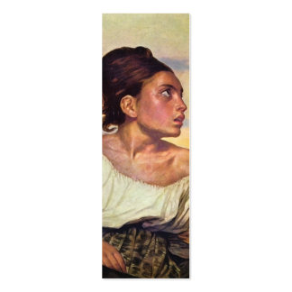 Eugène Delacroix - Orphan in the Cemetery Pack Of Skinny Business Cards