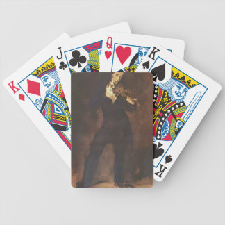 Eugene Delacroix- Portrait of Paganini Bicycle Playing Cards