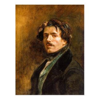 Eugene Delacroix Postcard