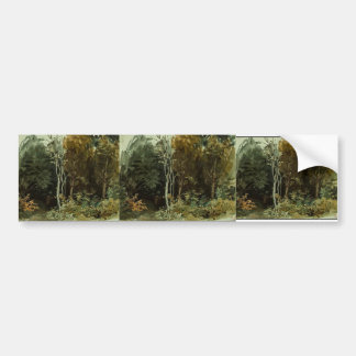 Eugene Delacroix: The Edge of a Wood at Nohant Bumper Sticker