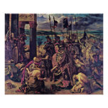 Eugene Delacroix - The Entry of the Crusaders Posters