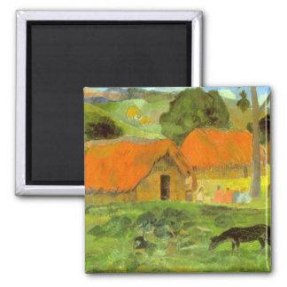Eugène Henri Paul Gauguin - Le Trois Huttes Magnets