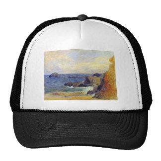 Eugène Henri Paul Gauguin - Rocky Coast Trucker Hat