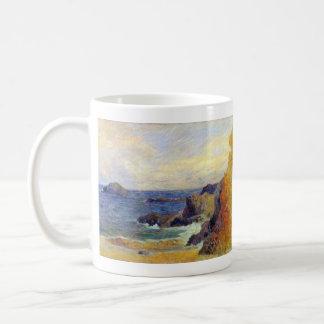 Eugène Henri Paul Gauguin - Rocky Coast Coffee Mug