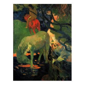 Eugène Henri Paul Gauguin - The Mold Postcard