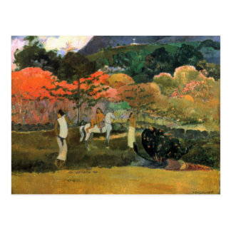 Eugène Henri Paul Gauguin - Women and Mold Post Card
