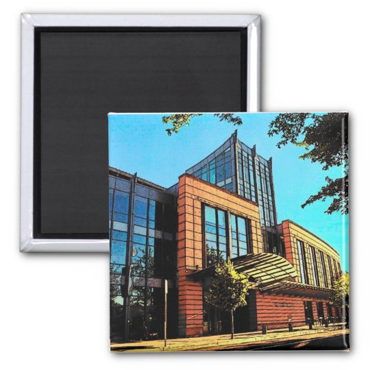 Eugene Library Magnet