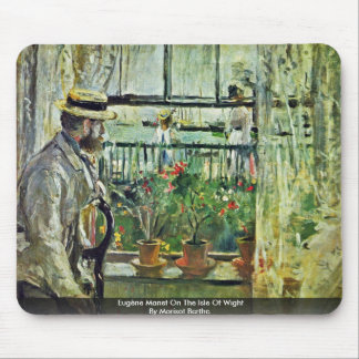 Eugène Manet On The Isle Of Wight Mouse Mat