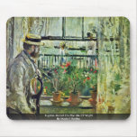 Eugène Manet On The Isle Of Wight Mouse Pad