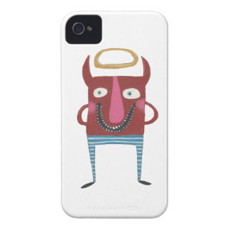 Eugene the Little Devil iPhone 4 Case-Mate Cases