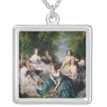 Eugenie Surrounded by her Ladies-in-Waiting Pendants