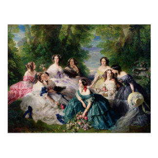 Eugenie Surrounded by her Ladies-in-Waiting Postcard