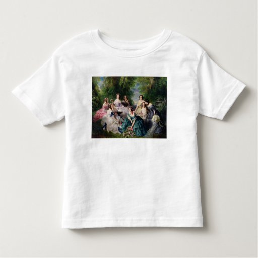 Eugenie Surrounded by her Ladies-in-Waiting Tee Shirt