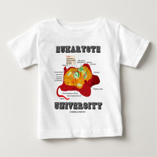 Eukaryote University (Animal Cell) Baby T-Shirt