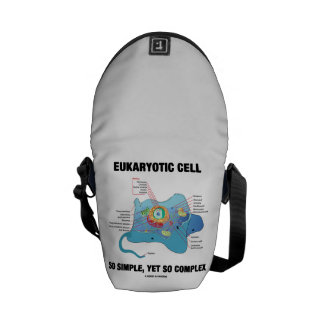Eukaryotic Cell So Simple, Yet So Complex Messenger Bag